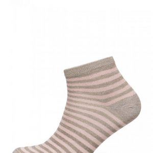 Decoy Ladies Sock W. Lurex Stripes Nilkkasukat