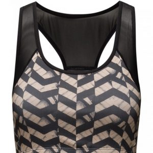 Saint Tropez Printed Sports Bra