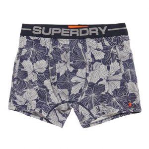 Superdry Hawaiian Sport Bokserit Laivastonsininen