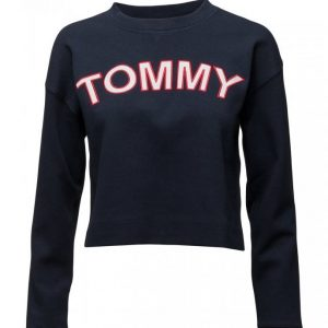 Tommy Hilfiger Tommy Athletic Cn Top Ls Toppi