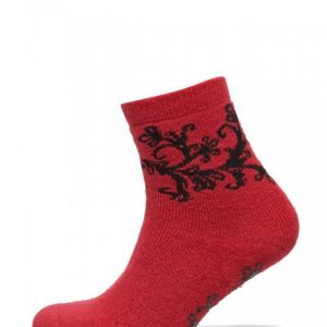 Vogue Ladies Anklesock Wool Blend Flower Socks Nilkkasukat